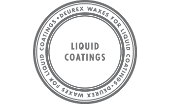 Waxes for liquid coatings