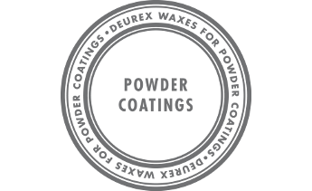 Waxes for powder coatings