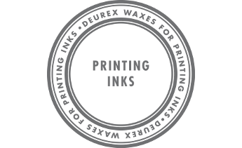 Waxes for printing inks