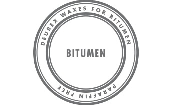 Waxes for bitumen